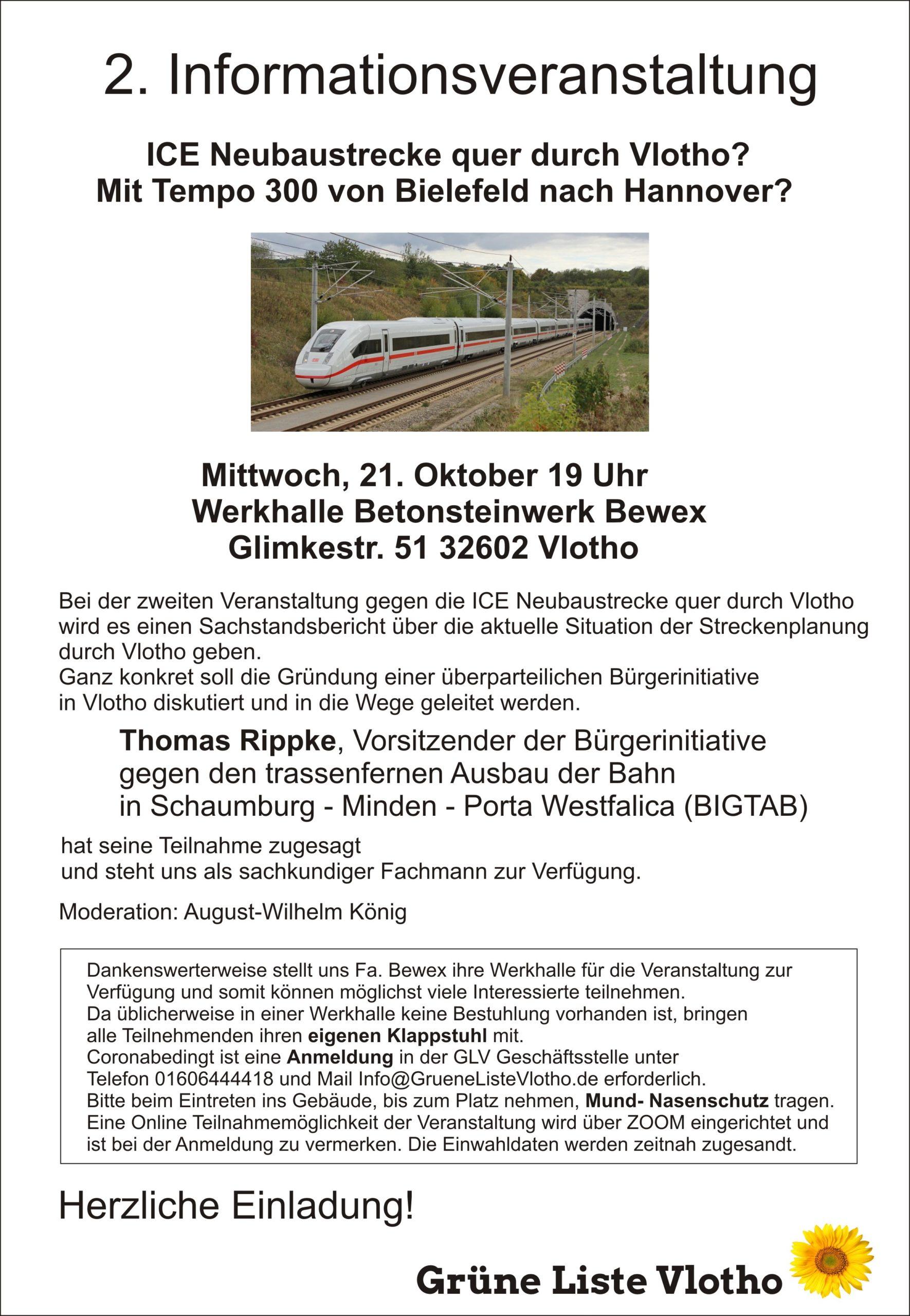 Flyer Infoveranstaltung - 21.10.2020