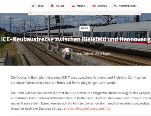 ICE-Neubaustrecke zwischen Bielefeld und Hannover geplant