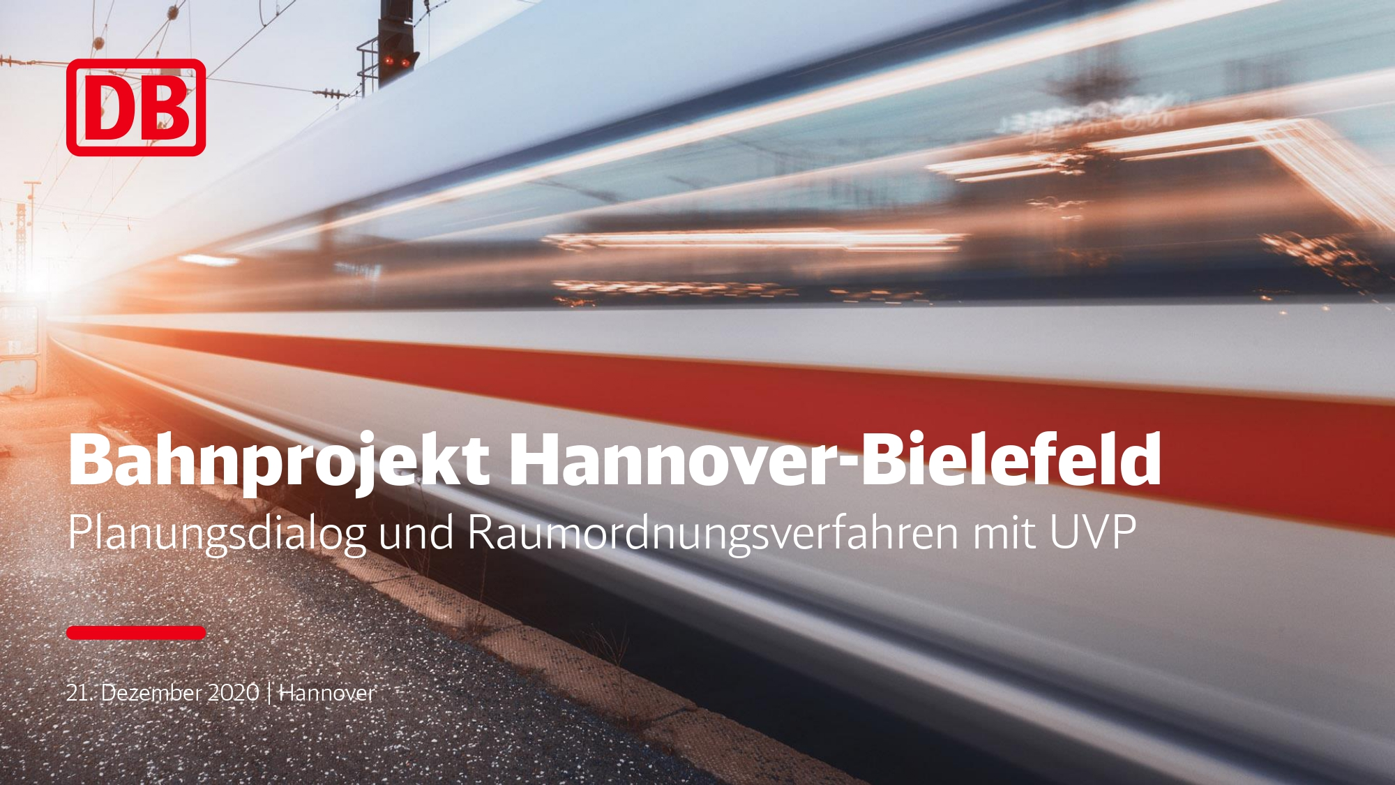 DB, Planungsdialog und Raumordnungsverfahren mit UVP - 21.12.2020