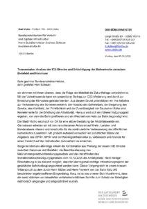 Brief an Bundesverkehrsminister - 2021-01-05 Stadt Vlotho